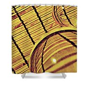 Crystal Ball Project 100 Shower Curtain
