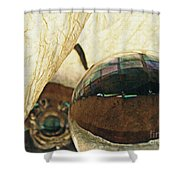 Crystal Ball Project 120 Shower Curtain