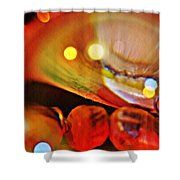 Crystal Ball Project 13 Shower Curtain
