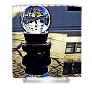 Crystal Ball Project 62 Shower Curtain