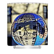 Crystal Ball Project 63 Shower Curtain