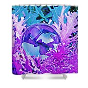 Crystal Ball Project 66 Shower Curtain