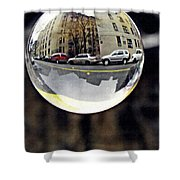 Crystal Ball Project 89 Shower Curtain