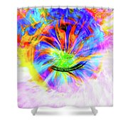 Crystal Ball Visions Shower Curtain