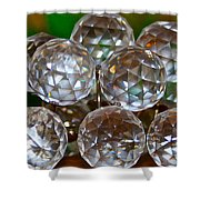 Crystal Balls Shower Curtain