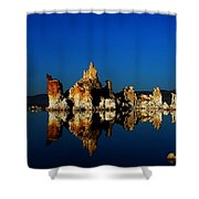 Crystal Blue Persuation Shower Curtain
