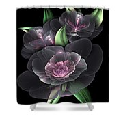 Crystal Bouquet Shower Curtain