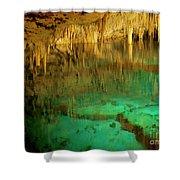 Crystal Cave Hamilton Parish Bermuda Shower Curtain