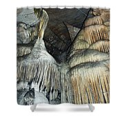 Crystal Cave Portrait Sequoia Shower Curtain