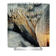 Crystal Cave Sequoia Landscape Shower Curtain