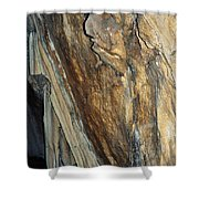 Crystal Cave Walls Shower Curtain