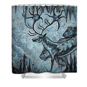 Crystal Cavern Procession Shower Curtain