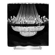 Crystal Chandelier Shower Curtain