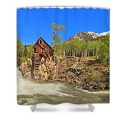 Crystal Colorado Dead Horse Mill Shower Curtain