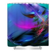Crystal Egg Shower Curtain