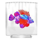Crystal Fish - 20 Shower Curtain