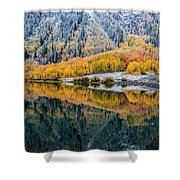 Crystal Lake Area 1 Shower Curtain