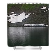 Crystal Lake Colorado Shower Curtain