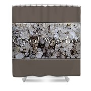 Crystal Memories Shower Curtain
