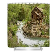 Crystal Mill In July Shower Curtain