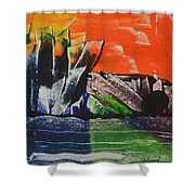 Crystal Quarry Shower Curtain