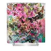 Crystal Reflections Shower Curtain