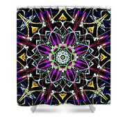 Crystal Sun Shower Curtain