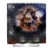 Crystal Vision Shower Curtain