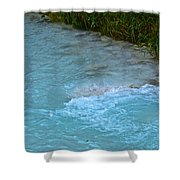 Crystal Waters Shower Curtain