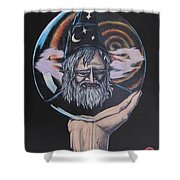 Crystal Wizard Shower Curtain