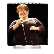 Crystal Wood Grigsby R1 8798v - Photo Art Shower Curtain