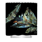 Crystalize Shower Curtain