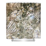 Crystals And Stones Zeolite 4718 Shower Curtain