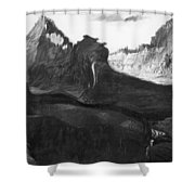 Csontvary: Hight Tatras Shower Curtain