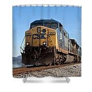 Csx Dash -8 Shower Curtain