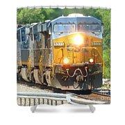 Csx Engine 5333 Shower Curtain