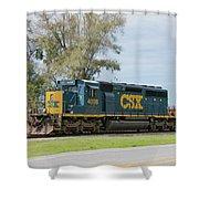 Csx Sd40-3 Shower Curtain