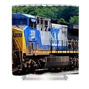 Csx Train 378 Shower Curtain