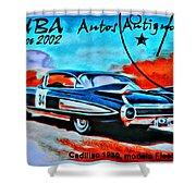 Cuba Antique Auto 1959 Fleetwood Shower Curtain