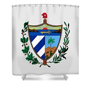 Cuba Coat Of Arms Shower Curtain
