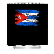 Cuba Flag Gift Country Patriotic Travel Shirt Americas Light Shower Curtain