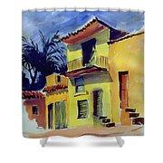 Cuban Architecture Shower Curtain