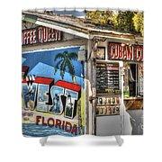 Cuban Coffee Queen Shower Curtain
