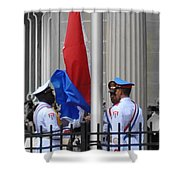 Cuban Raise Shower Curtain