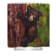 Cubby Climbing Shower Curtain