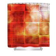 Cubist Shower Curtain