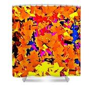 Cubist Tesseract Shower Curtain