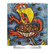 Cuckoo For Cocoa Puffs Shower Curtain