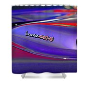 'cuda 440-6 Shower Curtain