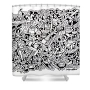 Cuddlebear Shower Curtain